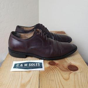 Joseph Abboud Oxford Toe Cap Brown Leather